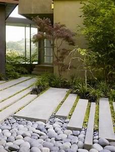 Gartengestaltung Mit Beton : moderne gartengestaltung 110 inspirierende ideen in bildern ~ Markanthonyermac.com Haus und Dekorationen