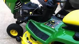 John Deere X300 - Short Overview
