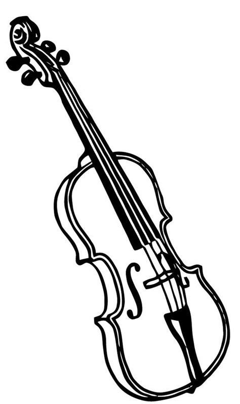 violin pencil drawing    clipartmag