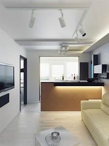 Wohnzimmer Mit Offener Küche : einrichtungsideen f r wohnzimmer mit offener k che ~ Watch28wear.com Haus und Dekorationen