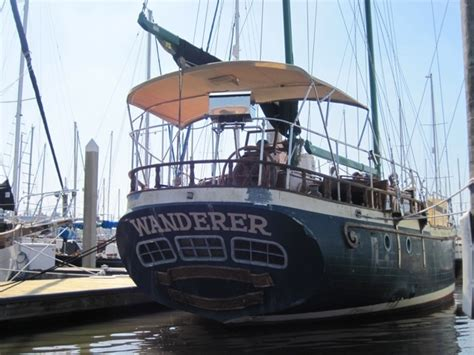 Sailboat Movie by 51 Foot Ketch The Wanderer Boat Featured In The Movie