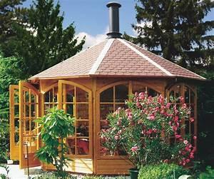 Grill Pavillon Holz : raucherpavillon grillpavillon aus holz grillh tte von riwo ~ Whattoseeinmadrid.com Haus und Dekorationen