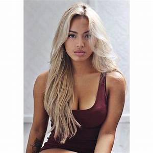 Best 25+ Blond hair dark skin ideas on Pinterest