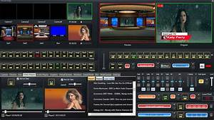Video Live Streaming Software With Video Switcher Mixer