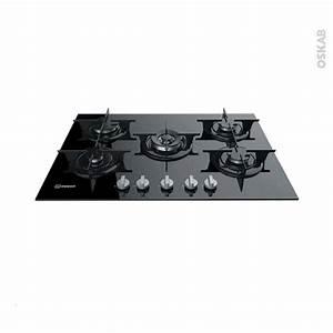 Plaque De Cuisson 5 Feux : plaque de cuisson 5 feux gaz 68 cm verre noir indesit pr ~ Dailycaller-alerts.com Idées de Décoration