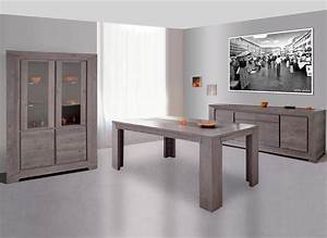 awesome salle a manger gris anthracite pictures amazing With meuble salle à manger
