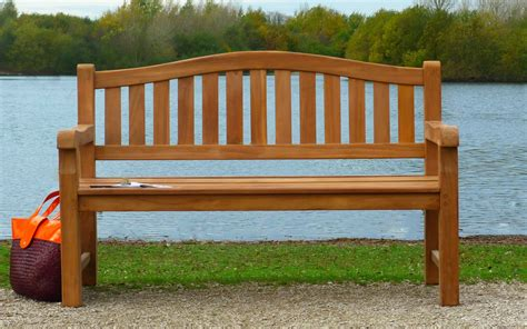 Cambridge Teak Memorial Bench 3 Seater 15m  Sloane & Sons