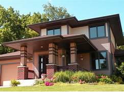 Typical Prairie Style House Prairie Style Home Contemporary Exterior Detroit By VanBrouck Prairie Style Exterior Doors Tudor Style House Prairie Style Homes Home Styles Home Style Decoration Idea