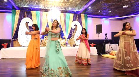 video  brides sangeet performance  bollywood songs
