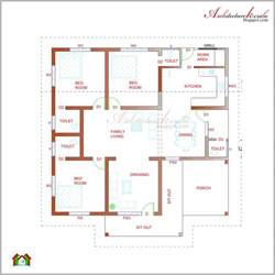 home plan ideas 44 kerala house designs and floor plans plan and elevation 1000 sq ft kerala home design and