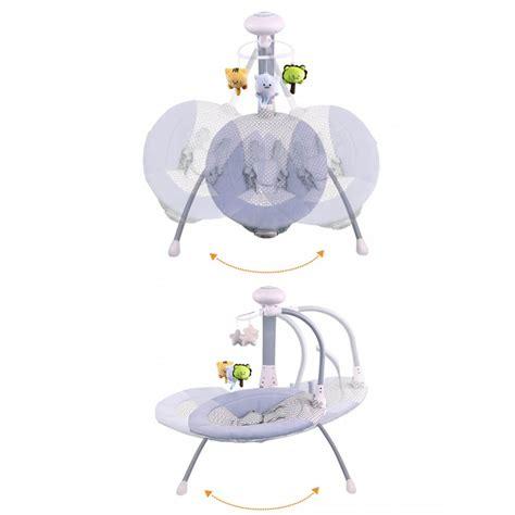 balancelle electrique bebe balancelle 233 lectrique transat b 233 b 233 3 en 1 liloudiamond 2 mp3 char
