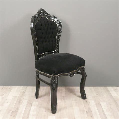 chaise noir pas cher chaise baroque fauteuil baroque meuble baroque