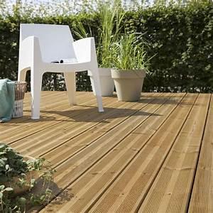 Planche De Bois Exterieur : planche bois kuhmo marron x cm x mm ~ Premium-room.com Idées de Décoration