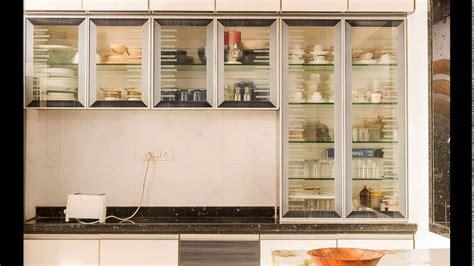 Kitchen Shelves Design Ideas - kitchen crockery cabinet designs youtube