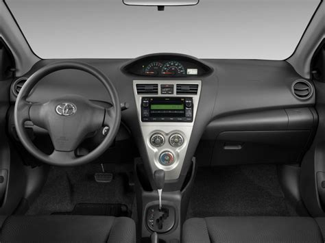 image  toyota yaris  door sedan auto gs dashboard