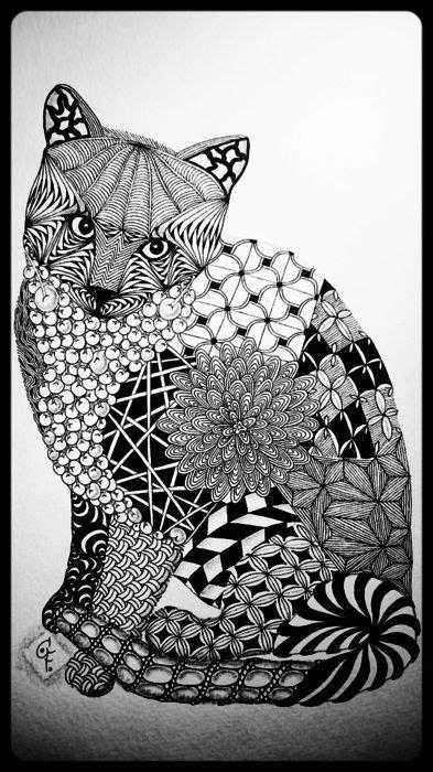 zentangle cat cofono zentangle inspired art cats