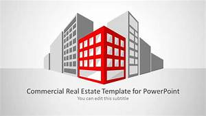 Open House Powerpoint Commercial Real Estate Template For Powerpoint Slidemodel