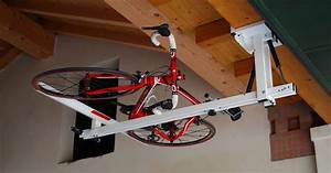 Flat Bike Lift : portabici da soffitto per mountain bike touring bike e ~ Sanjose-hotels-ca.com Haus und Dekorationen