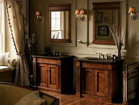 Updating With Antique Bathroom Vanity   Interior Design