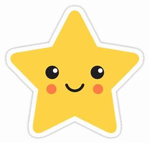 """Cute kawaii star"" Stickers by MheaDesign Redbubble"