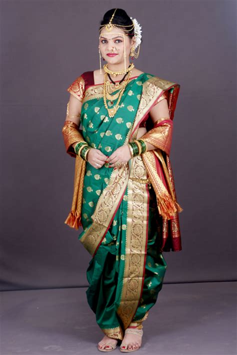 pre stitched nauvar saree wear nauvar saree   dress