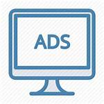 Icon Display Ads Ad Advertising Monitor Icons