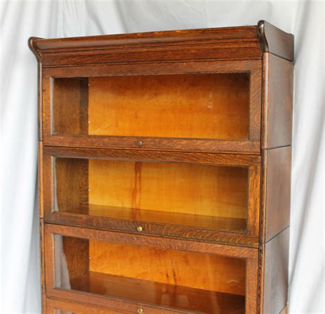 Oak Bookcases With Drawers by Bargain S Antiques Antique Oak Bookcase With Five