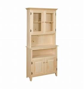 [32 Inch] Hunt Board Hutch - Simply Woods Furniture