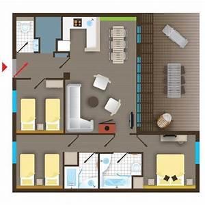 px cottage premium bd477 de center parcs le bois aux daims With porte d entrée pvc avec haut parleur salle de bain bluetooth