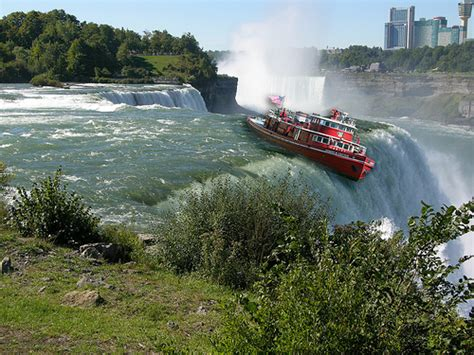 Niagara Falls Boat by Boat Going Niagara Falls Trying Something Whimsical