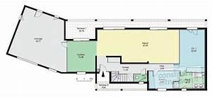 maison spacieuse detail du plan de maison spacieuse With dessin plan de maison 4 maison spacieuse detail du plan de maison spacieuse
