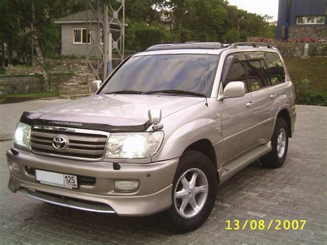 2002 Toyota Land Cruiser by Toyota Landcruiser Gps 2002