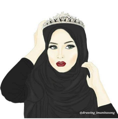 pin  farida buyondo  positives hijab drawing hijab