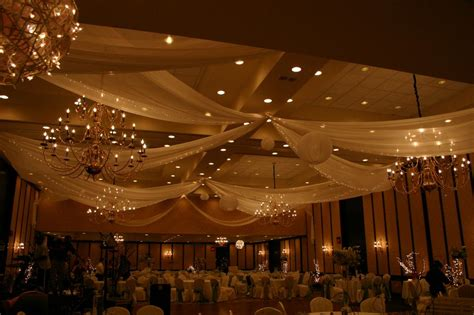 Ceiling Drapes For Weddings by How To Drape A Ceiling For A Wedding