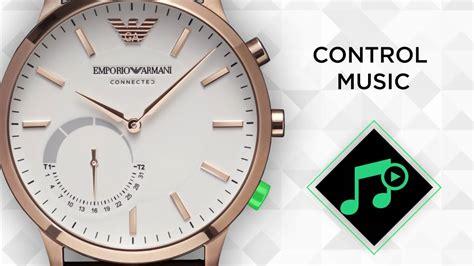 emporio armani connected hybrid smartwatch youtube