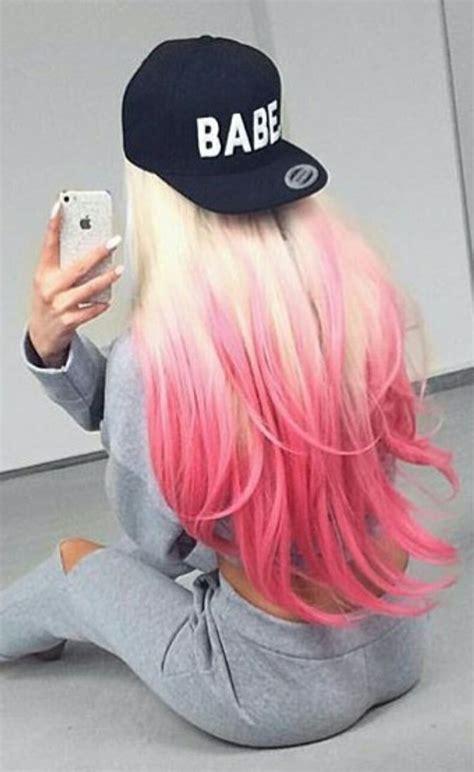 25 Best Ideas About Blonde Pink On Pinterest Blonde