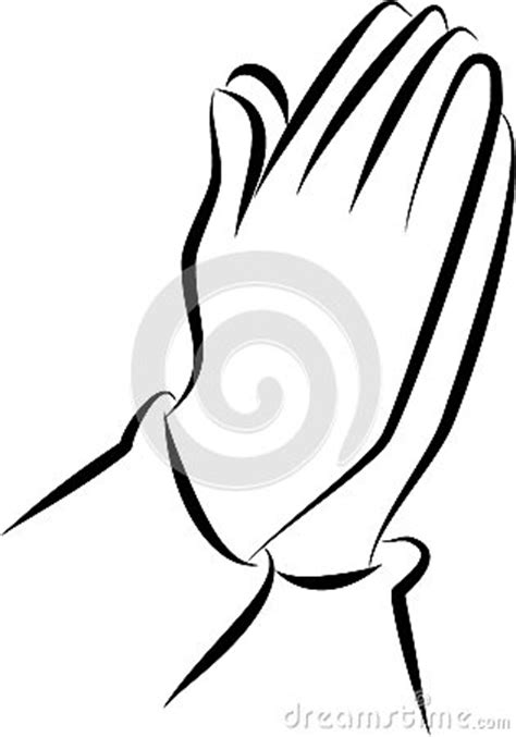 Praying Hands Clip Art Stock Illustration - Image: 41064124