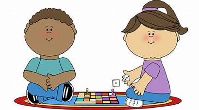 Games Clipart Children Math Young Board Playing