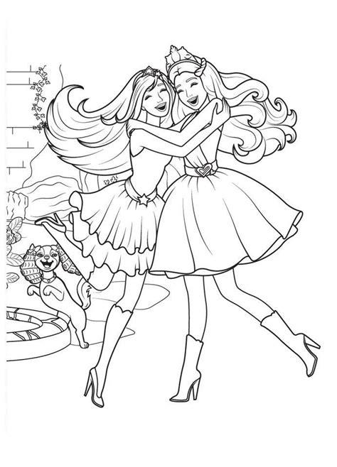 Barbie immagine da colorare n 6766 cartoni da colorare. Barbie Principessa Rock   Disegni da Colorare
