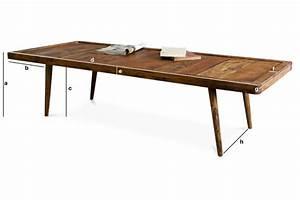 Table Basse Stockholm : table basse stockholm une grande table de salon au design pib ~ Teatrodelosmanantiales.com Idées de Décoration