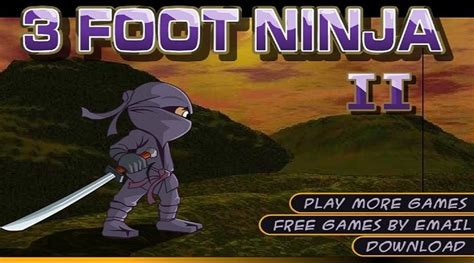 foot ninja unblocked games