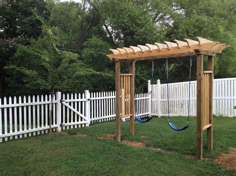 Swing For Backyard Adults by This Is The New Swing Set I Just Built For The When