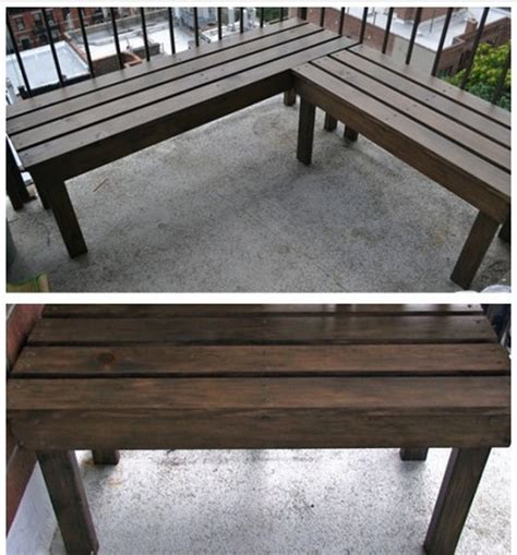 Diy Patio Bench Plans by 39 Diy Garden Bench Plans You Will To Build Home