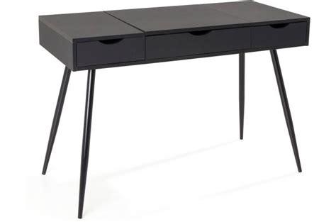 bureau scandinave en bois noir study design pas cher sur sofactory