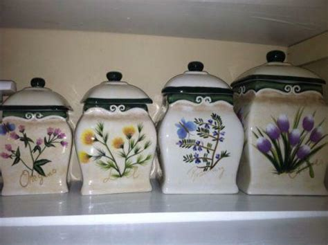 Decorative Kitchen Canisters by Decorative Kitchen Canisters Ebay