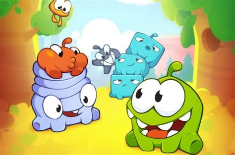 cut the rope 2 introduces new friends but feeds om nom