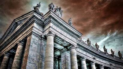 Cool Rome Architecture Ancient Panorama Hdr Basilica