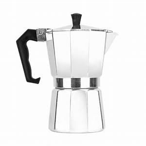 Home Portable Manual Coffee Maker Aluminum 3  6  9 Cup