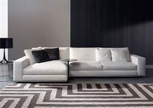 Hamilton sectional by rodolfo dordoni minotti quickship for Sectional sofa bed hamilton