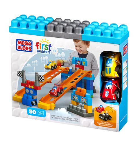 Mega Bloks Fast Tracks Raceway Giveaway  About A Mom